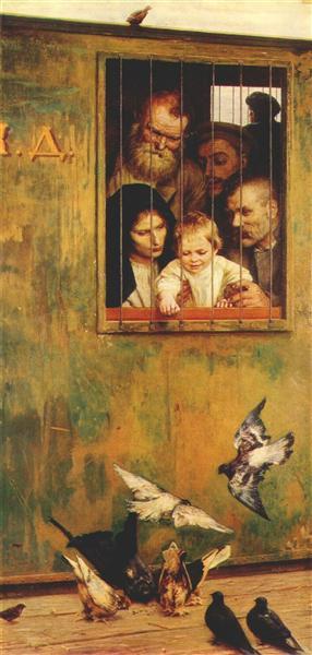 Life Is Everywhere, 1888 - Николай  Ярошенко