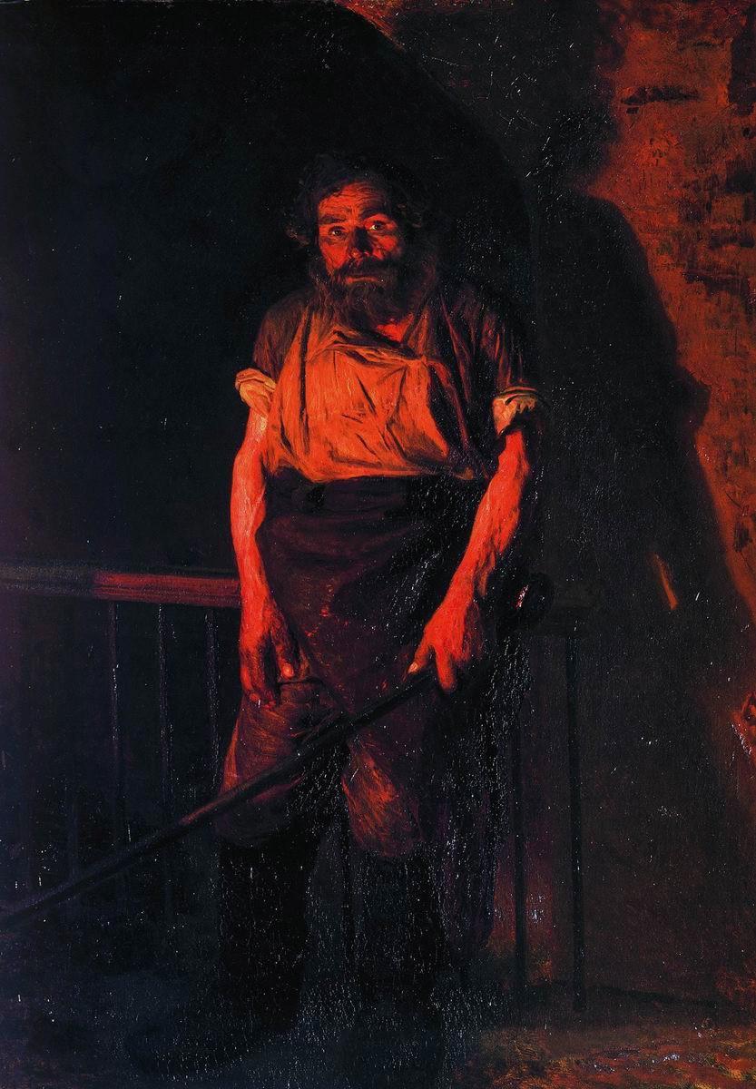 Artistes ukrainiens The-stoker-1878