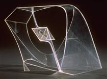 Construction in Space with Crystalline Centre - Naum Gabo