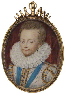 Robert Carr, Earl of Somerset, 1611 - Nicholas Hilliard