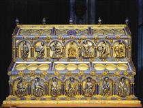 Shrine of the Three Holy Kings, David Side - Nicholas of Verdun