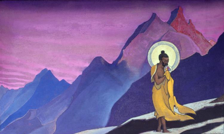 Blessed Soul (Bhagavan Sri Ramakrishna), 1924 - Nicholas Roerich