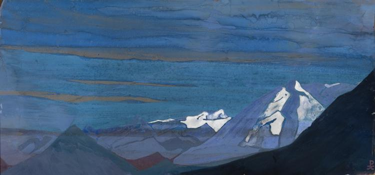 Himalayan Snows - Nicholas Roerich