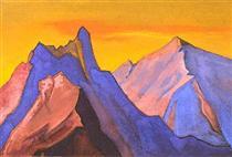Himalayas - Nikolai Konstantinovich Roerich
