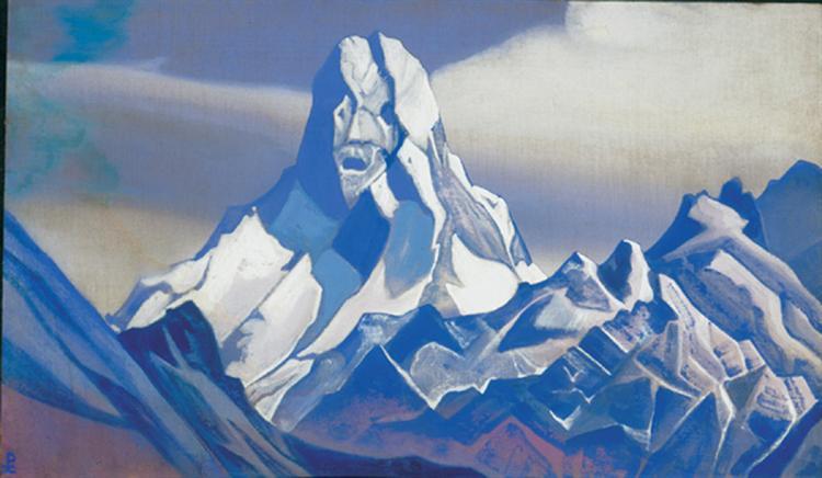 Ice sphinx, 1938 - Nicholas Roerich