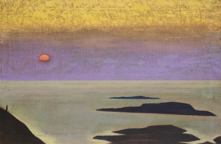 Monhegan, 1922 - Nicholas Roerich