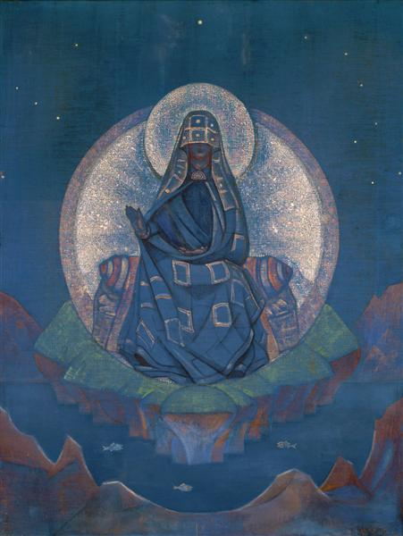 Mother of the World, 1924 - Nicholas Roerich