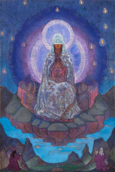 Mother of the World, 1937 - Nicholas Roerich