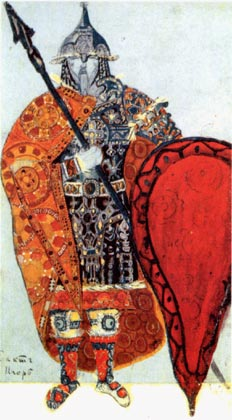 Prince Igor, 1914 - Nicholas Roerich