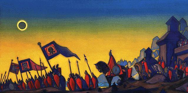 Prince Igor Campaign, 1942 - Nicholas Roerich