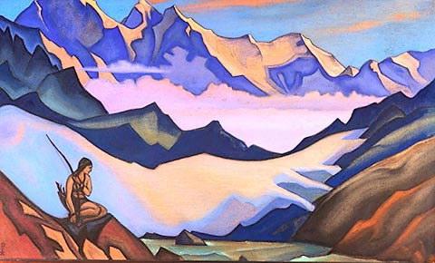 Snow maiden, 1947 - Nicholas Roerich