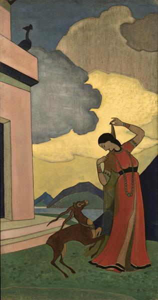 Song of the morning, 1920 - Nicholas Roerich