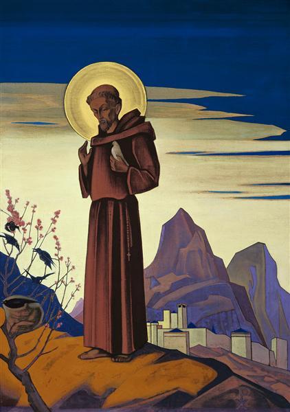 St. Francis, 1931 - Nicholas Roerich