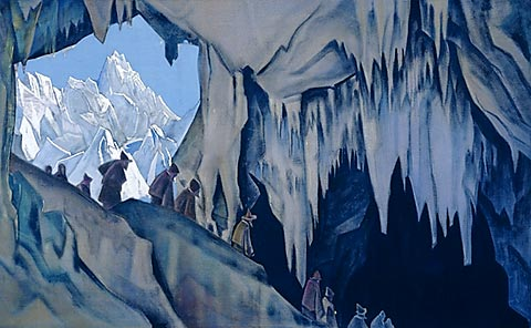 Underground chud, c.1928 - Nicholas Roerich