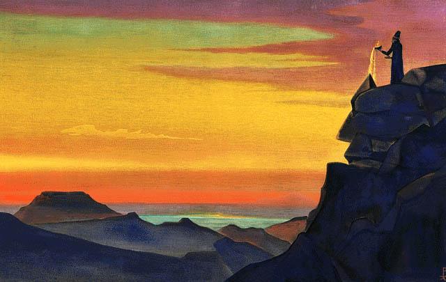 Zarathustra, 1931 - Nicholas Roerich