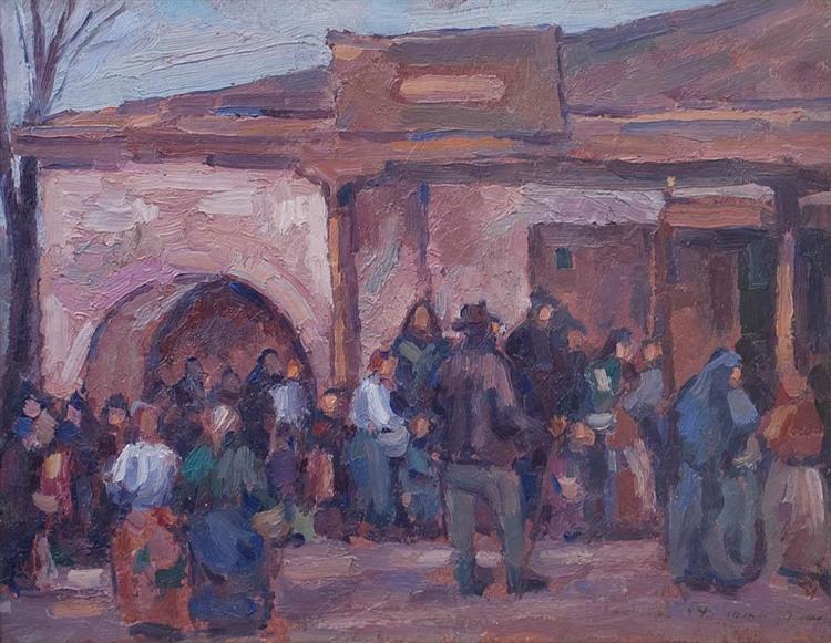 Iași Square (Food Row), 1918 - Nicolae Darascu