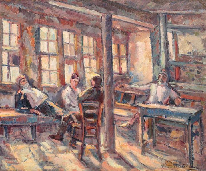Mamut's Café, 1933 - Nicolae Darascu
