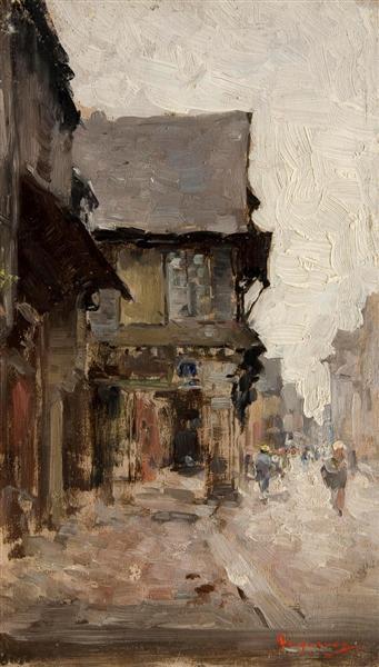 Case la vitre - Nicolae Grigorescu
