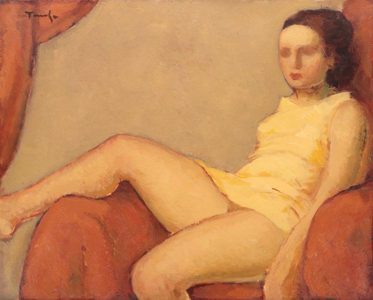 Catrina, 1932 - Nicolae Tonitza