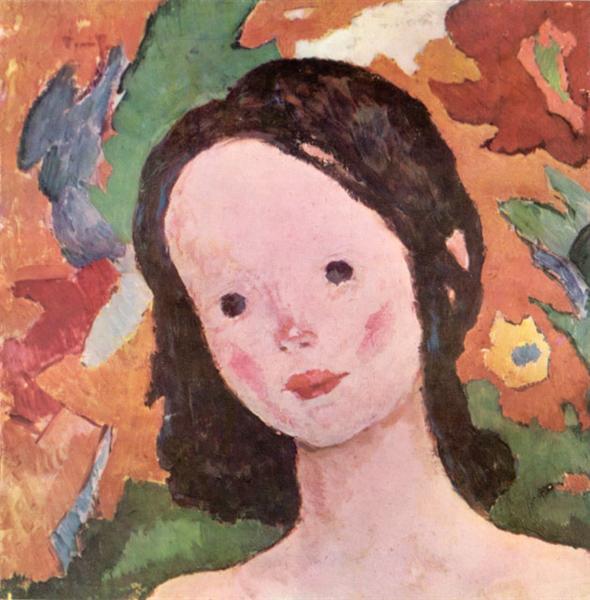 Little Girl, 1928 - Nicolae Tonitza