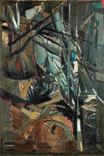 Composition, 1947 - Nicolas de Staël