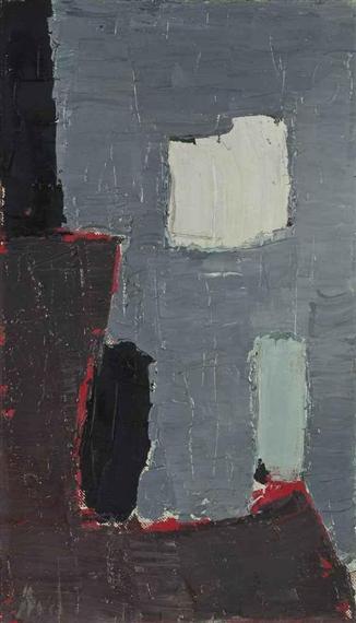 Composition, 1950 - Nicolas de Staël
