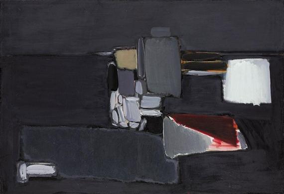 Nature morte en gris, 1955 - Nicolas de Staël