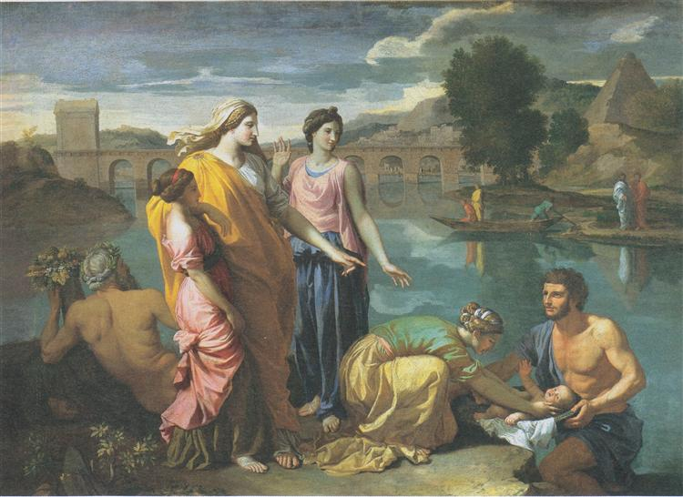 The Finding of Moses, 1638 - Nicolas Poussin
