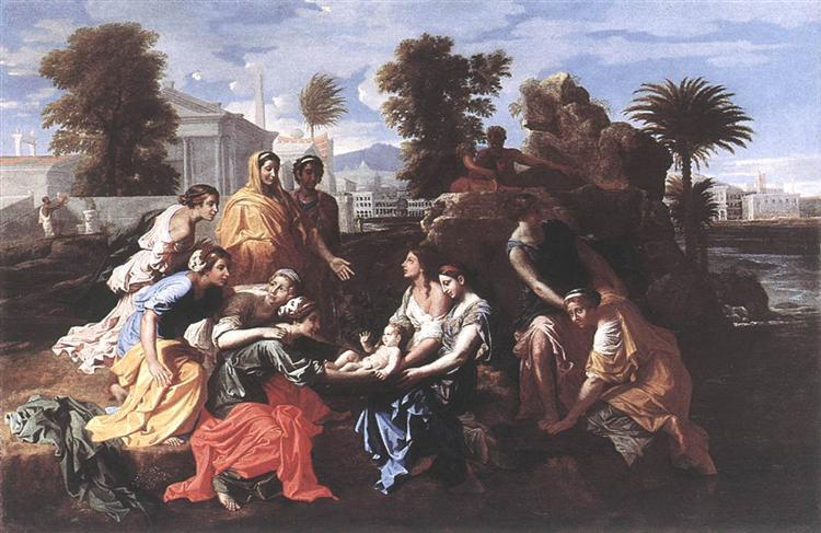 The Finding of Moses, 1651 - Nicolas Poussin
