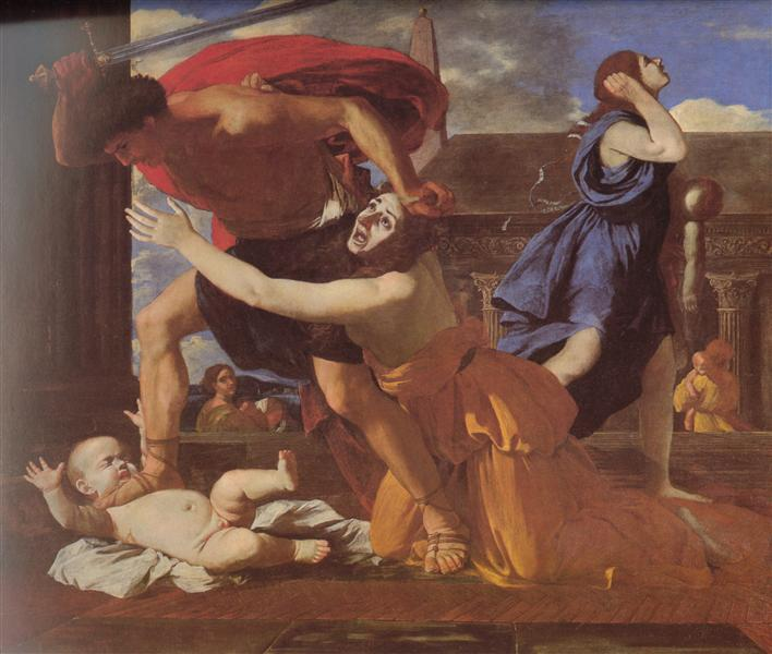 The Massacre of the Innocents, c.1628 - 1629 - Nicolas Poussin