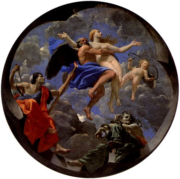 Truth Stolen Away by Time Beyond the Reach of Envy and Discord, 1641 - Nicolas Poussin