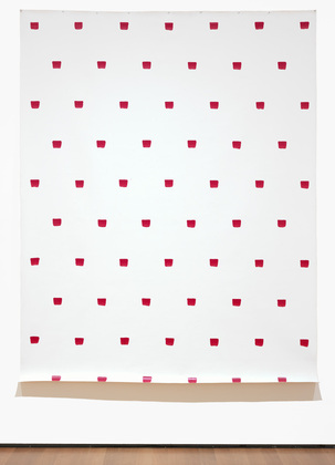 Imprints of a No. 50 Paintbrush Repeated at Regular Intervals of 30 cm., 1971 - Niele Toroni