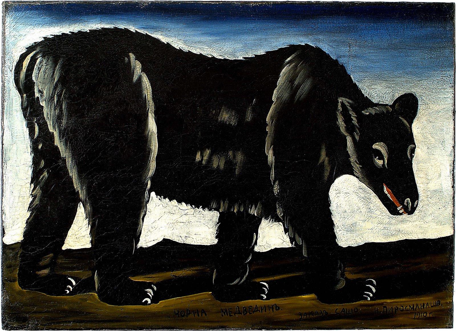 Black bear, 1910