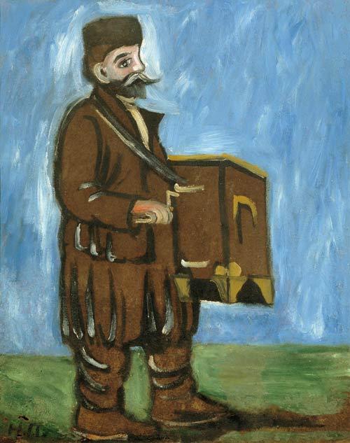 Organ grinder, 1910