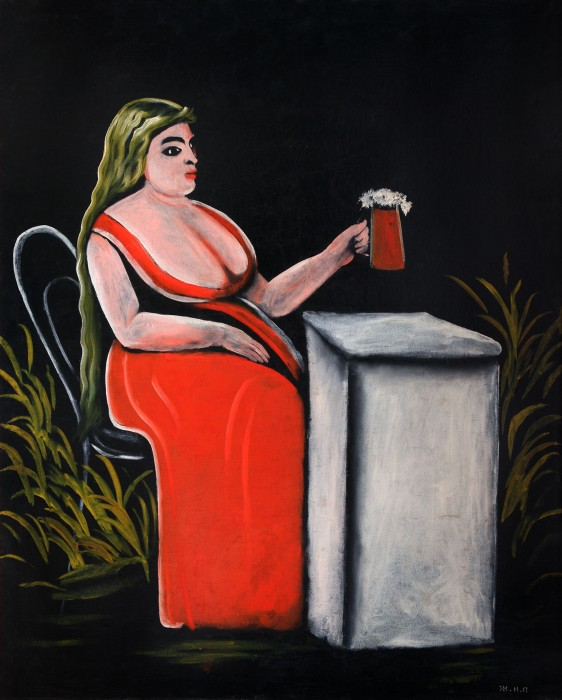Woman with a Mug of Beer, 1905