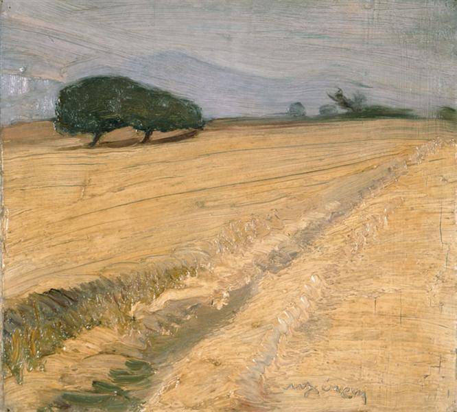 Field with Haystacks - Nikolaos Lytras