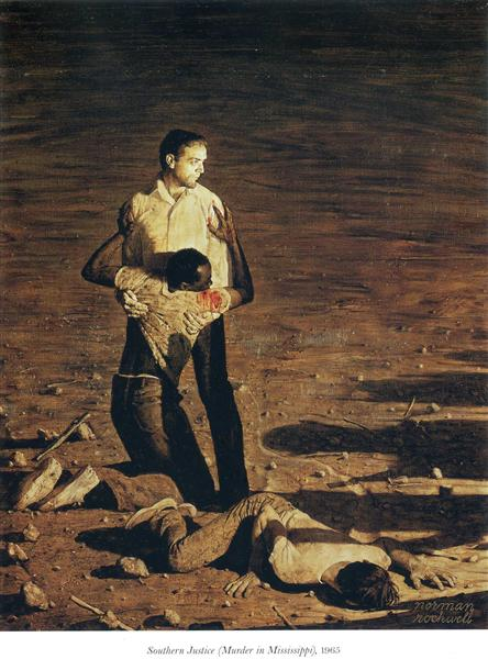 Southern Justice (Murder in Mississippi) - Rockwell Norman