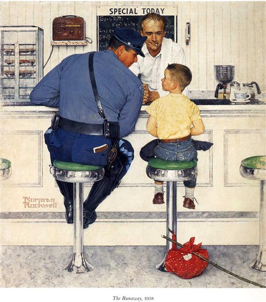 The Runaway - Rockwell Norman