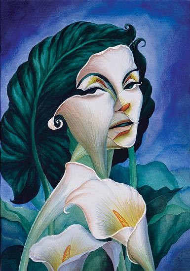 Woman of substance - Octavio Ocampo