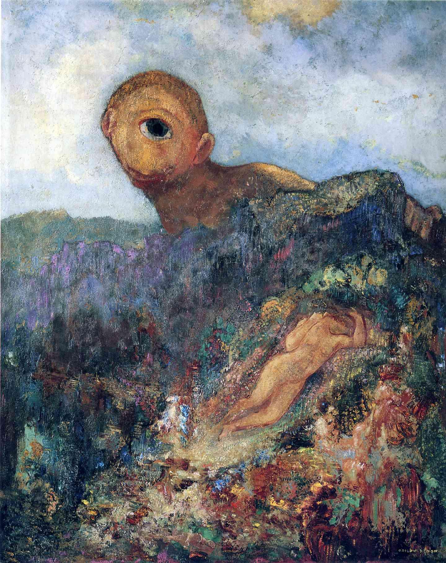 The Cyclops, c.1914 - Odilon Redon - WikiArt.org