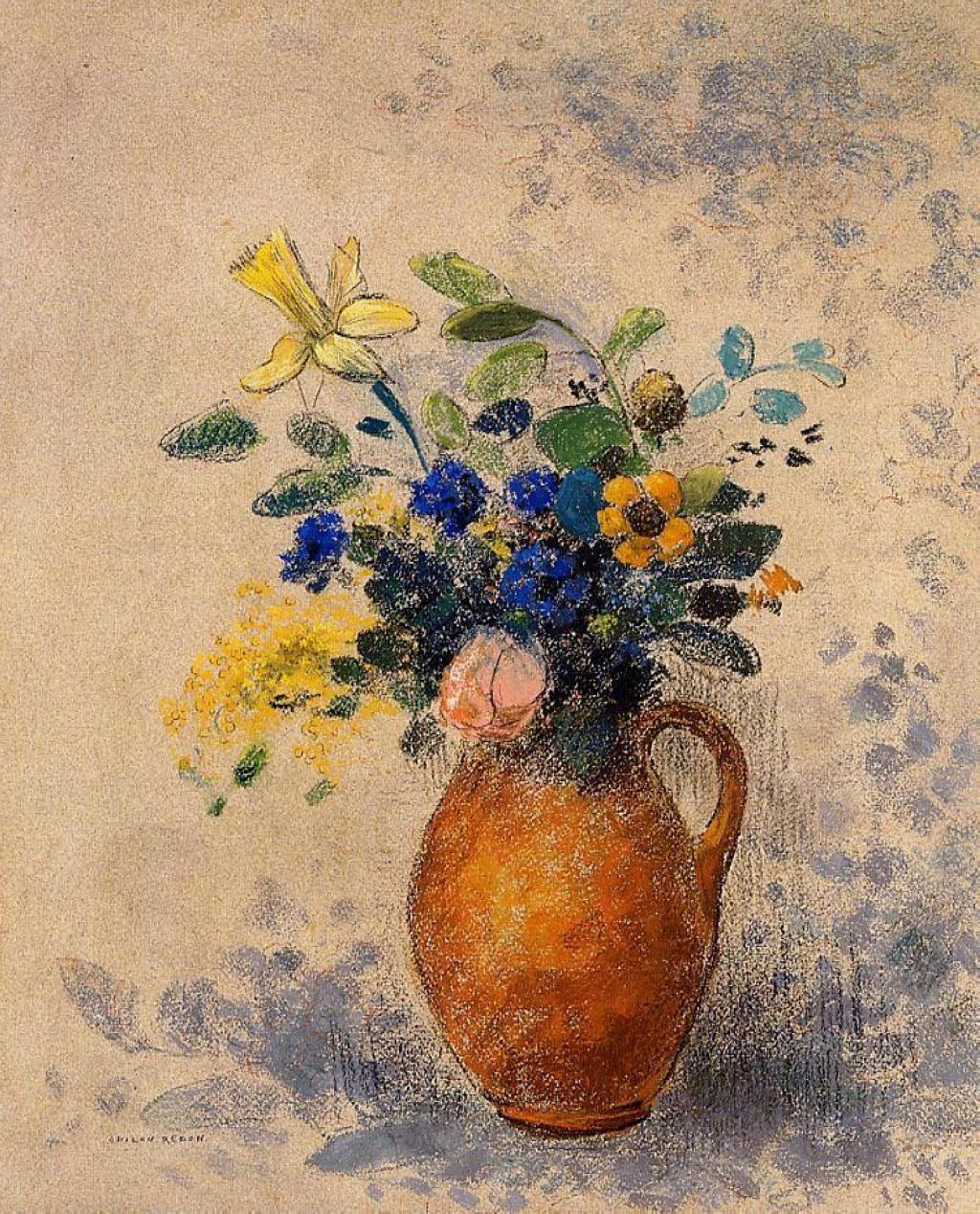 vase of flowers odilon redon encyclopedia of visual arts. Black Bedroom Furniture Sets. Home Design Ideas