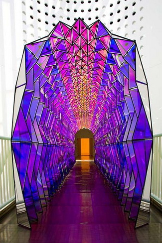 One-way colour tunnel, 2007 - Olafur Eliasson
