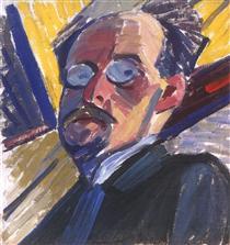 Self-portrait - Oleksandr Bogomazov