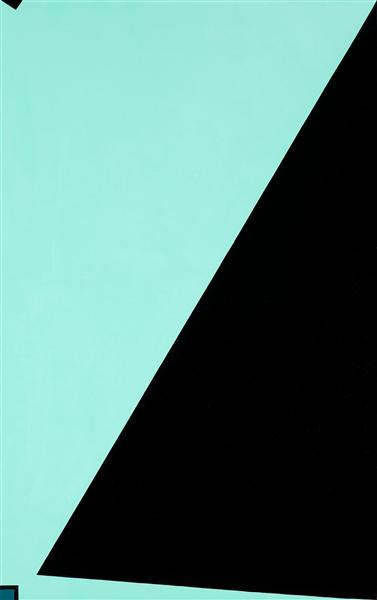 Force Spatiale Blanc Noir Bleu, 1953 - Olle Baertling