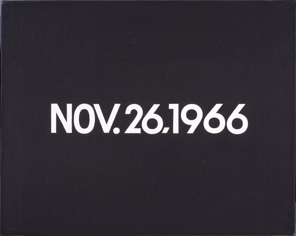 Nov. 26 1966 (from Today Series, No. 217), 1966 - On Kawara
