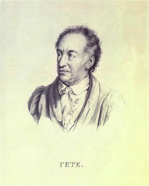 Portrait Of Johann Wolfgang Von Goethe 1823 Orest