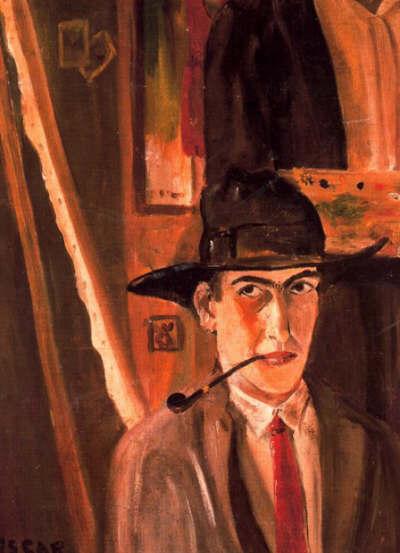 Autorretrato, 1926 - Oscar Dominguez