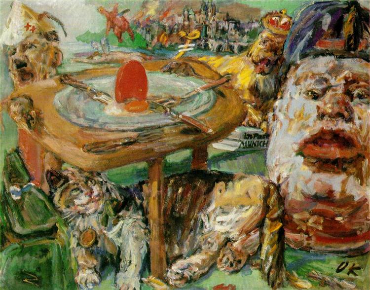 The red egg, 1940 - 1941 - Oskar Kokoschka