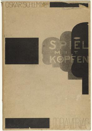 Play on Heads (Spiel mit Köpfen), 1923 - Oskar Schlemmer