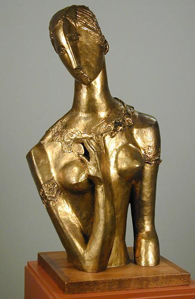 CarolJanewayBust, 1943 - Ossip Zadkine